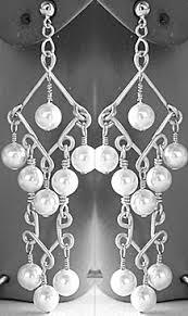 Chandelier Beaded Earrings White Bead Tutorial Two Tier Chandelier Earrings Fire Mountain Gems And Beads