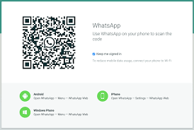 Whatsapp Web Whatsapp Web Qr Code See Whatsapp Chats On Your Pc Or Mac