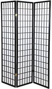 amazon com ore international 4 panel shoji screen room divider