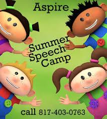 summer speech camps starts june 25th aspire interventions