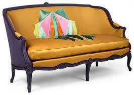 canape de style canapé louis xv gondole 1033 4 sièges de style et canapés