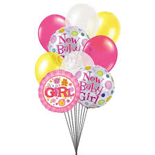 send balloons send colorful balloons for baby girl send balloons for new