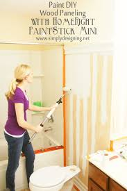 Painting Wall Paneling Diy Wood Paneling
