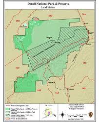 denali national park map subsistence eligibility denali national park preserve u s