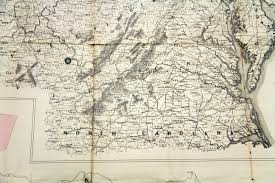 Map Of Virginia And West Virginia by The Research Behind A Catalog Record Map Of Coal Lands In Raleigh