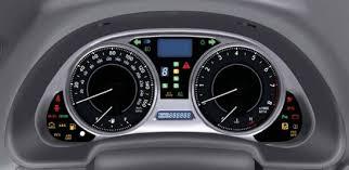 lexus indicator lights lexus is mk2 dash warning lights guide
