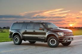ford expedition a ford expedition with crazy f 150 raptor power is the super suv
