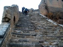 Death Stairs by Seeing The Great Wall Of China Crossing Something Off My Death