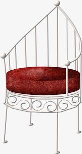 siege en forme de une chaise de forme spéciale de coussin de siège un dossier