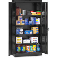 Security Cabinet Tennsco 7218bk Full Height Standard Storage Cabinet 36