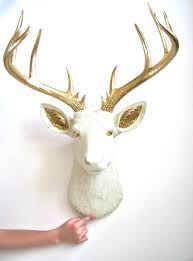 Fake Deer Head Wall Mount Painted Eyes And Ears Xl Faux Taxidermy Deer Head Doug The