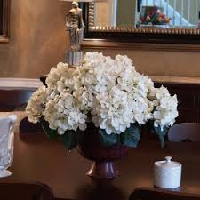 silk flower arrangements white hydrangea ar262 flowers silk