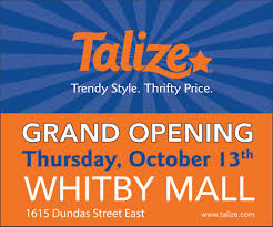 talize u2014 introducing our new location in whitby