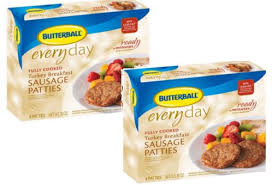 butterball cooked turkey butterball fully cooked breakfast sausage patties only 1 68 at