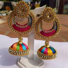 fancy earing artificial jewellery