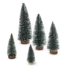 1pcs mini plastic artificial tree miniatures