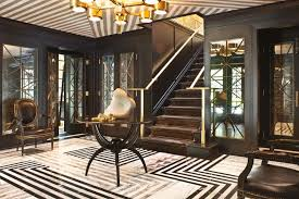 lady luxe entrance to the evergreen residence mercer island washington us