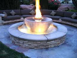 articles with gas fire pit kits tag outstanding gas patio fire