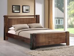 sweet dreams mozart king size walnut bed frame home bedroom
