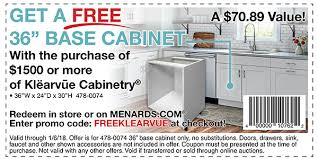 kitchen sink base cabinet menards menards now is the time to check out klearvue kitchen