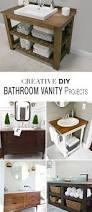 creative diy bathroom vanity projects diy bathroom vanity