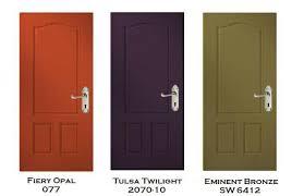 Exterior Door Color Three Exterior Door Color Prescriptions From