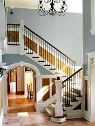 Paint Colors For Hallways And Stairs by Ever Grey Small Hallways Modern Country Style And Modern Country