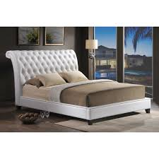 Modern Tufted Headboard by Picture Of Upholstered Tufted Sleigh Bed All Can Download All