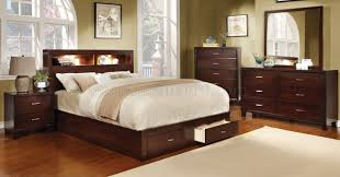 Furniture Of America Bedroom Sets Cm7291ch Gerico Ii Bedroom In Brown Cherry W Options