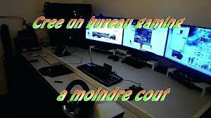 bureau pour gamer ordinateur bureau gamer pc bureau gamer multimedia mid range