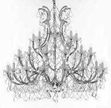 Great Chandeliers Com Gb104 Silver 756 36 1 Gallery Maria Theresa