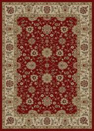 Red Area Rug by Concord Ankara Zeigler Traditional Rectangle Area Rug Rug Depot