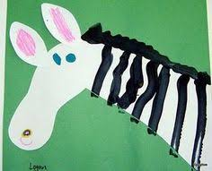 toilet paper roll zebra craft crafts and worksheets for