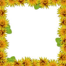 free printable thanksgiving borders flower frame overlay 2 by hggraphicdesigns on deviantart