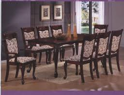 queen anne dining room set tapered leg queen anne dining table