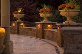 Outdoor Low Voltage Lighting Marotte Landscapes Marotte Design Llc Free Standing Wood