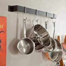 cuisinart 33 inch bar wall pot rack hayneedle