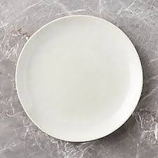 dinner plates square oval rectangular and crate and barrel