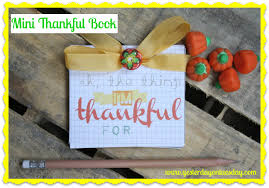 free mini thankful book yesterday on tuesday