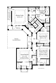 House Plans With Dual Master Suites Inspirational Four Bedroom House Plans Two Story A 1500x951