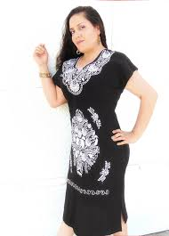 an extraordinary black and white mexican dress for women perfect