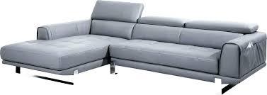 canapé d angle en cuir gris canape angle cuir gris canape cuir angle droit gris perle 3 vaena