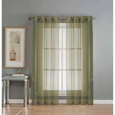 Sage Green Drapes Green Grommet Sheer Curtains U0026 Drapes Window Treatments