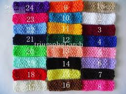 crochet band crochet band boy amp girl 1 5 inch crochet headband soft multi