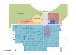 United Center Floor Plan Oncology Center Floor Plans Cancer Center Floor Plan First Floor