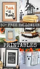 Decorate Your Home For Halloween by 50 Free Halloween Printables Halloween Fun And Vintage Halloween