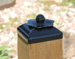 Decorative Wood Post Post Cap For 6x6 Wood Fence Or Gate Fence Post Decorative