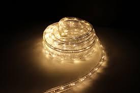 10ft rope lights warm white led rope light kit 1 0