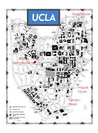 map of ucla ucla map pdf my