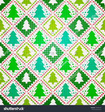 vector seamless pattern christmas tree stock vector 148305167